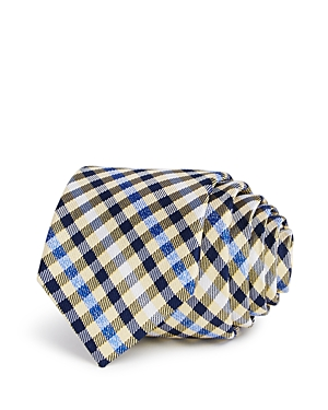 Michael Kors Boys' Heathered Gingham Silk Tie