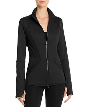 adidas by Stella McCartney - Performance Essentials Midlayer Mesh-Inset Jacket