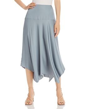 Rebecca Taylor - Satin Handkerchief-Hem Skirt