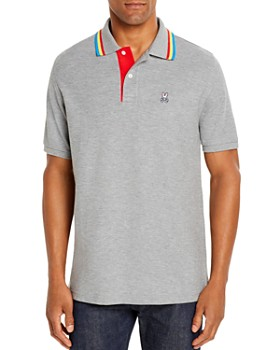 Psycho Bunny - Shortlands Stripe-Tipped Classic Fit Polo Shirt