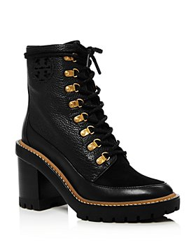 Tory Burch - Women's Miller Block Heel Hiker Boots