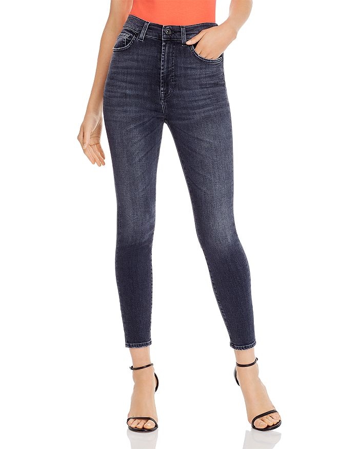 large assortment complimentary shipping authorized site Slim Illusion Skinny Ankle Jeans in Luxe Vintage Honest