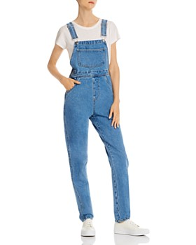 Onia - Overalls in Light Wash Denim