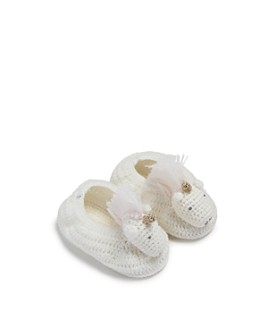 Albetta - Girls' Crochet Unicorn Booties - Baby