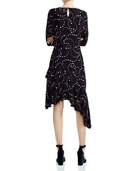 Maje - Retoile Asymmetric Star-Print Midi Dress