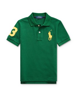 Ralph Lauren - Boys' Stretch Cotton Big Pony 3 Polo - Big Kid