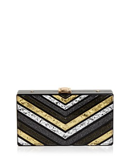 Sondra Roberts - Resin Chevron Box Clutch
