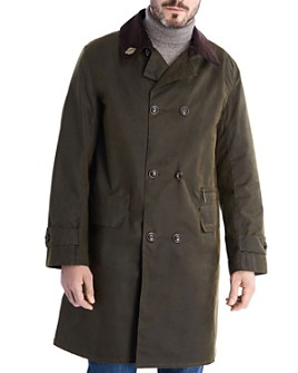 Barbour - Icons Haydon Waxed Double-Breasted Coat