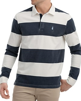 Johnnie-O - Retro Long-Sleeve Striped Classic Fit Rugby Shirt