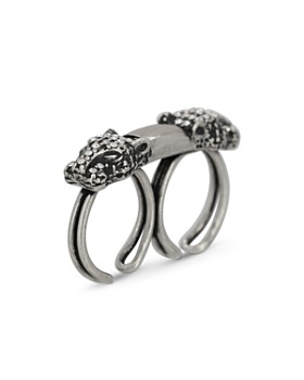 The Kooples - Panther Head Double Open Ring