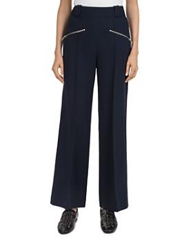 The Kooples - Zip-Detail Wide-Leg Pants