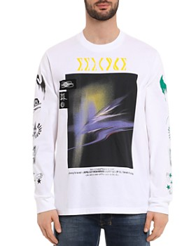 Diesel - T-JUST-LS-A3 Long-Sleeve Graphic Tee