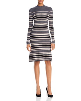 Theory - Striped Cashmere Dress - 100% Exclusive