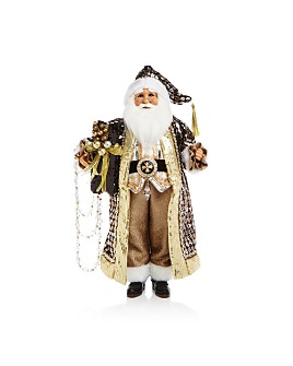 Karen Didion Originals - Mixed-Metal Santa