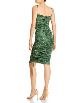 For Love & Lemons - Paula Ruched Drawstring Dress
