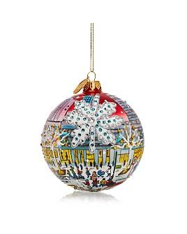 Michael Storrings - Christmas On 5th Avenue Glass Ball Ornament