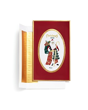 Masterpiece - 2019 Commemorative Santa Brett Greeting Cards, Box of 6