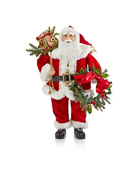 Karen Didion Originals - Lighted Gifts Santa