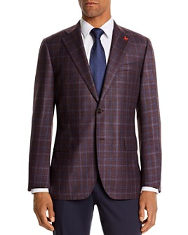 Cardinal Of Canada -  Brushed Plaid Regular Fit Sport Coat - 100% Exclusive
