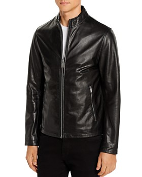 KARL LAGERFELD Paris - Leather Racer Jacket