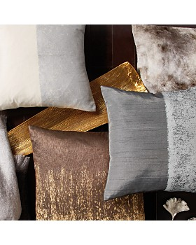 "Michael Aram - Metallic Texture Decorative Pillow, 18"" x 18"""