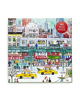 Galison - New York City Subway By Michael Storrings 500 Piece Puzzle