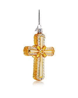 Old World Christmas - Holy Cross Glass Ornament