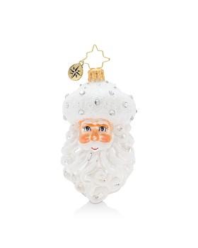 Christopher Radko - Winter Frost Santa Gem Ornament