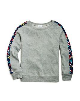 Splendid - Girls' Floral-Sleeve Sweatshirt - Big Kid