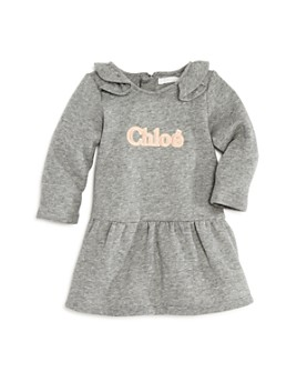 Chloé - Girls' Ruffled Logo Dress - Baby