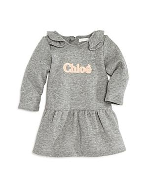Chloe Girls\\\' Ruffled Logo Dress - Baby-Kids