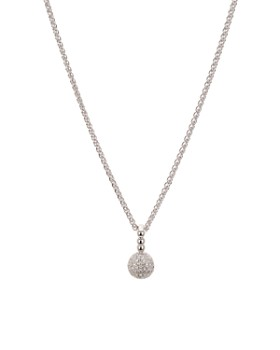 Bloomingdale's - Diamond Round Drop Pendant Necklace in Sterling Silver, 0.21 ct. t.w. - 100% Exclusive
