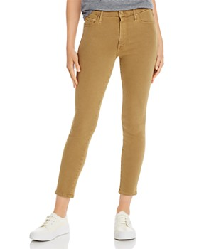 MOTHER - Looker High-Rise Ankle Skinny Jeans in Prairie