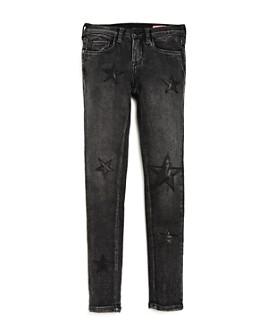 BLANKNYC - Girls' Star-Patch Jeans - Big Kid