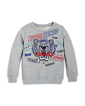Kenzo - Boys' Embroidered Tiger & Logo Sweatshirt - Little Kid