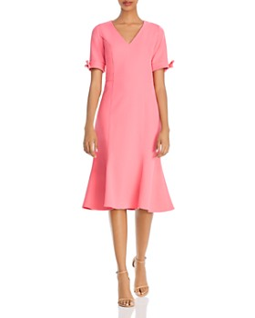 Shoshanna - Laney Textured Crêpe Dress