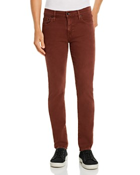 7 For All Mankind - Paxtyn Skinny Fit Jeans in Cabernet