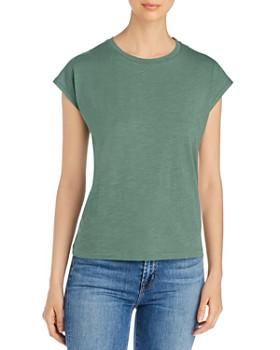 Eileen Fisher Petites - Organic Cotton Cap-Sleeve Tee
