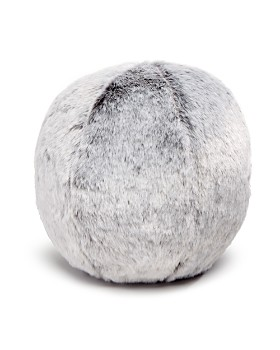 "Hudson Park Collection - Faux Fur Sphere, 12"" x 12"" - 100% Exclusive"