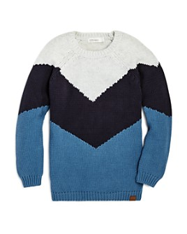 Miles Child - Boys' Color-Block Sweater - Little Kid