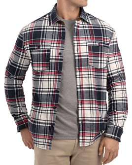 Johnnie-O - Percy Plaid Flannel Shirt Jacket