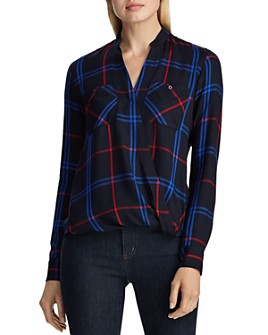 Ralph Lauren - Draped Plaid Twill Shirt