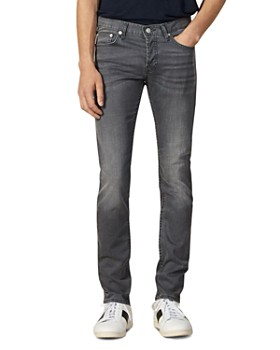Sandro - Washed Slim Fit Jeans in Gray