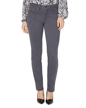 Nydj Petites Sheri Slim Jeans in Vintage Pewter