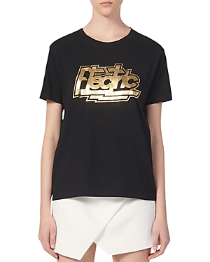 Sandro Electric Graphic Tee