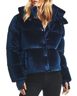 SAM. - Sydney Velvet Short Down Coat