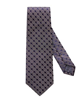 Eton - Detailed Circle Pattern Classic Tie