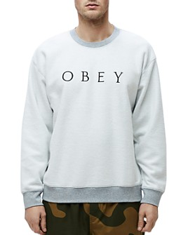 OBEY - Trophy Reversed-Fleece Sweatshirt