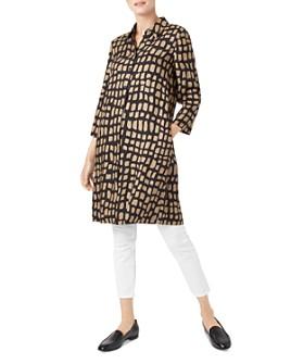 HOBBS LONDON - Aubery Animal-Print Shirt Dress