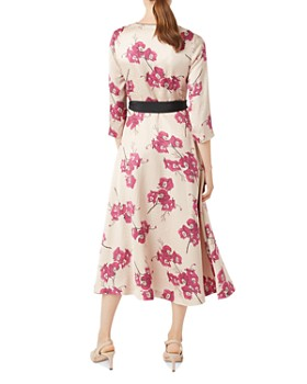 HOBBS LONDON - Nina Floral Faux-Wrap Dress